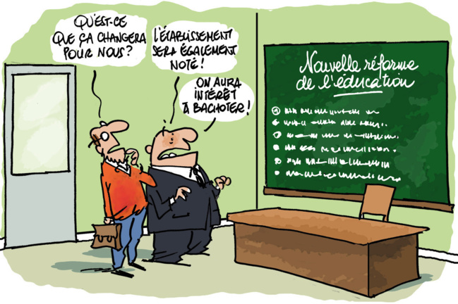 La loi Blanquer : Pour une école de la Confiance, nous dirions vers une école de la défiance !