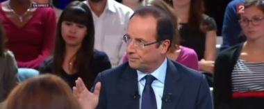 """Regardez à plusieurs l'émission """"Des paroles et des actes"""" avec François Hollande"""