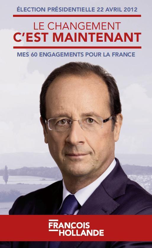 Les 60 engagements de François Hollande