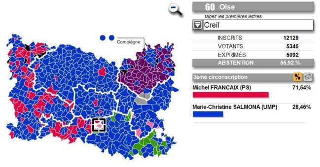 2 ème tour à Creil, des résultats qui confirment le changement et le travail de la majorité municipale