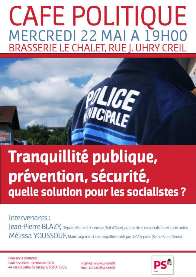 Café Politique : mercredi 22 mai