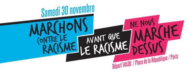 Marchons contre le racisme