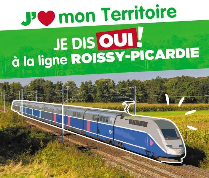 """La section de Creil soutient le """"projet Roissy-Picardie"""" , signez la pétition !!!"""