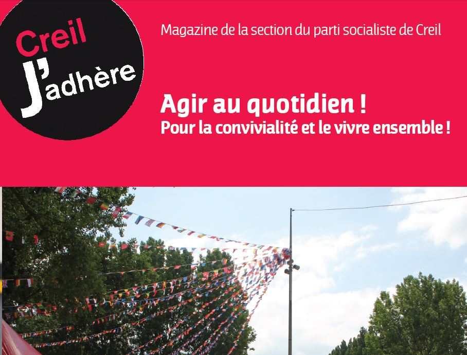 Edition de juin 2014 du magazine de la section de Creil