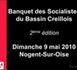 Banquet 2010 des socialistes du Bassin Creillois