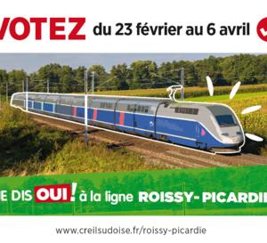 OUI à la ligne Picardie Roissy