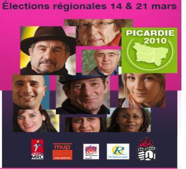 Site Internet : Avec la gauche rassemblée pour la Picardie