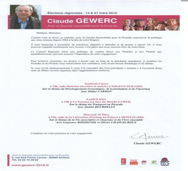 Election Régionale : Débat Citoyen à Creil