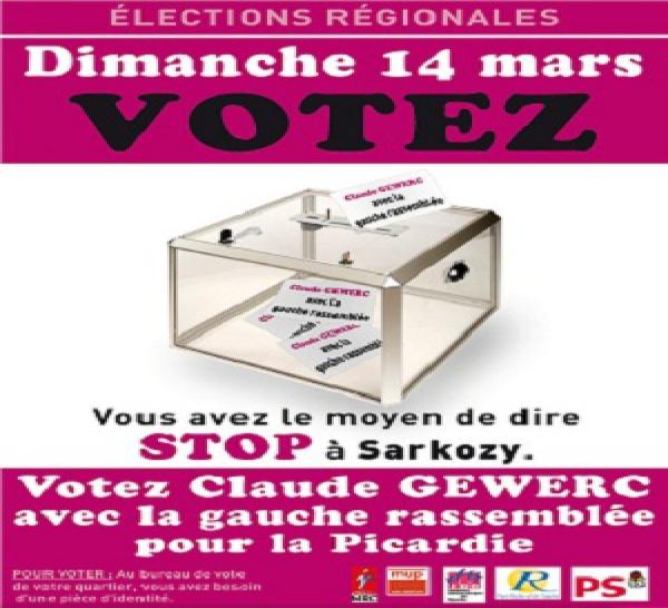 Elections Régionales : Votez