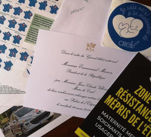 Jean-Claude Villemain refuse l'invitation du Président de la République